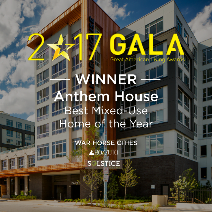 Anthem House wins 2017 GALA Awards