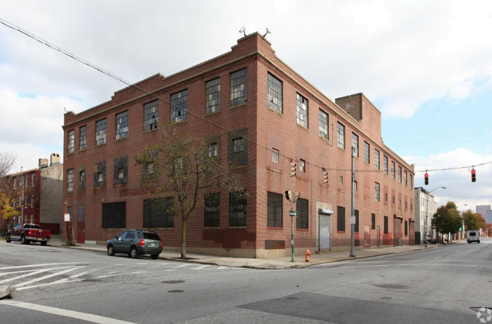Old city factory in Baltimore that will be converted to a tech space by Scott Plank of War Horse Cities.
