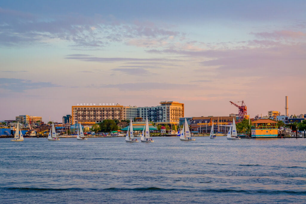 anthem house across the baltimore harbor